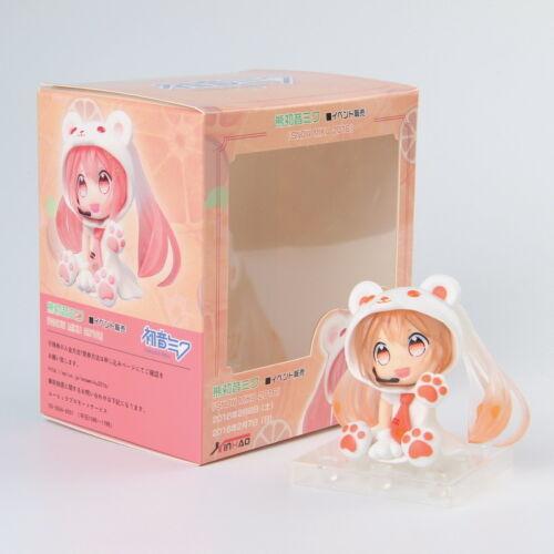 Vocaloid Hatsune Miku Snow Polar Bear PVC Action Figure Doll Mini Ver.Kids Gift