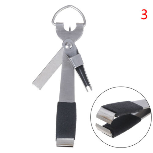 4 in1 Quick Knot Tying Tool Fly Fishing Clippers Line Cutter Nippers Snip ToR/_yk