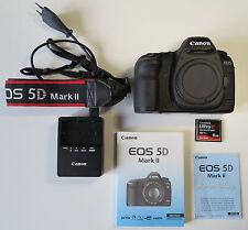 Canon EOS 5d Mark II, formato completo, carcasa sin objetivamente