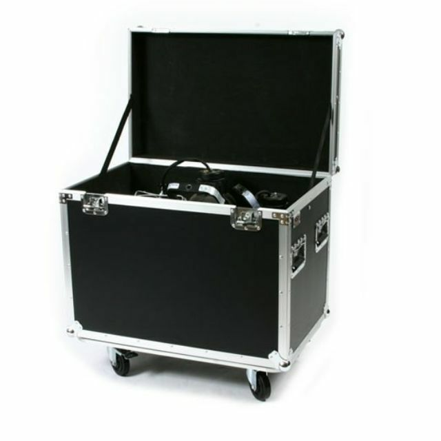 OSP Utility Trunk ATA Flight Tour Road Case with Wheels - Rubber Liner