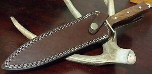 WESTERN STYLE DAGGER HUNTING BOWIE KNIFE W/ SHEATH CASE !!!
