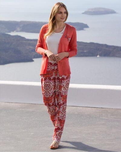 di estivo cardigan europei pantaloni donne Trio multi prodotti e 6Ow4pfq