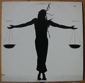Vinyl-LP-von-Benjamin-Zephaniah-mit-dem-Titel-Us-An-Dem
