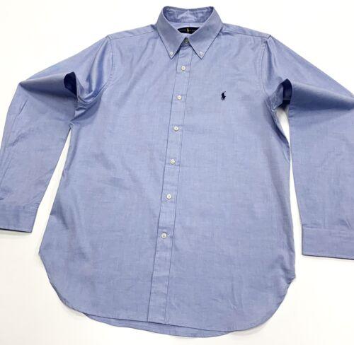 In Polyester Ralph Fit Men's Shirt Blue M Light Lauren Size Classic wrTIq7YT