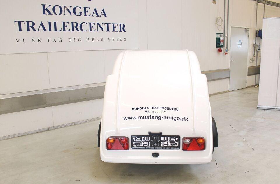 Trailer Mustang Amigo - m/ næsehjul, lastevne (kg):