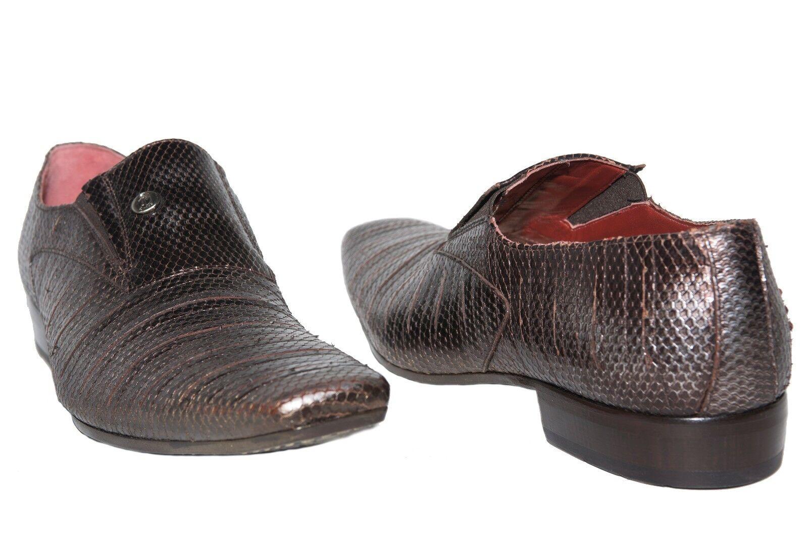 tutti i prodotti ottengono fino al 34% di sconto Jo Ghost 3604 3604 3604 Italian Uomo bronze leather slip on scarpe  negozio all'ingrosso