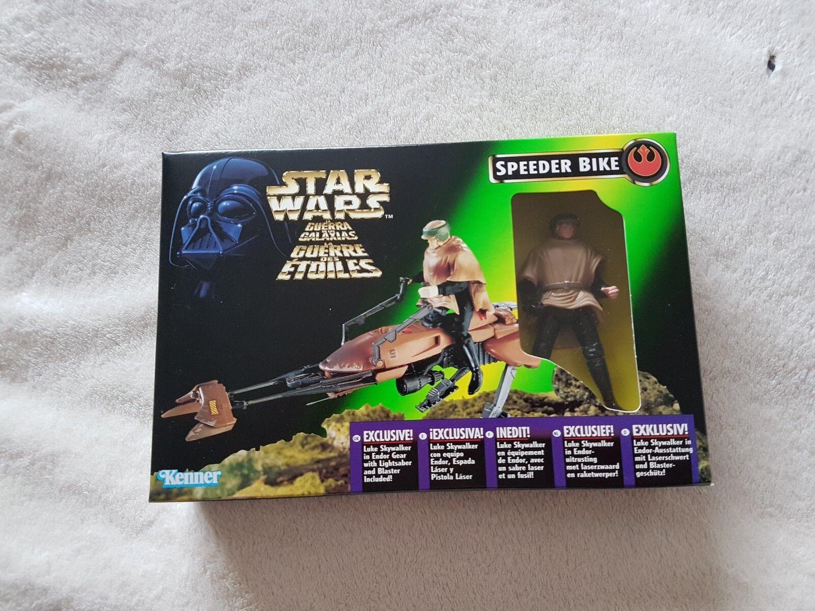 Star Wars Speeder Bike Luke Skywalker in Endor Gear 1996