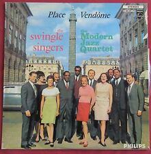 SWINGLE SINGERS WITH MODERN JAZZ QUARTET  LP ORIG 60'S  FR  PLACE VENDOME