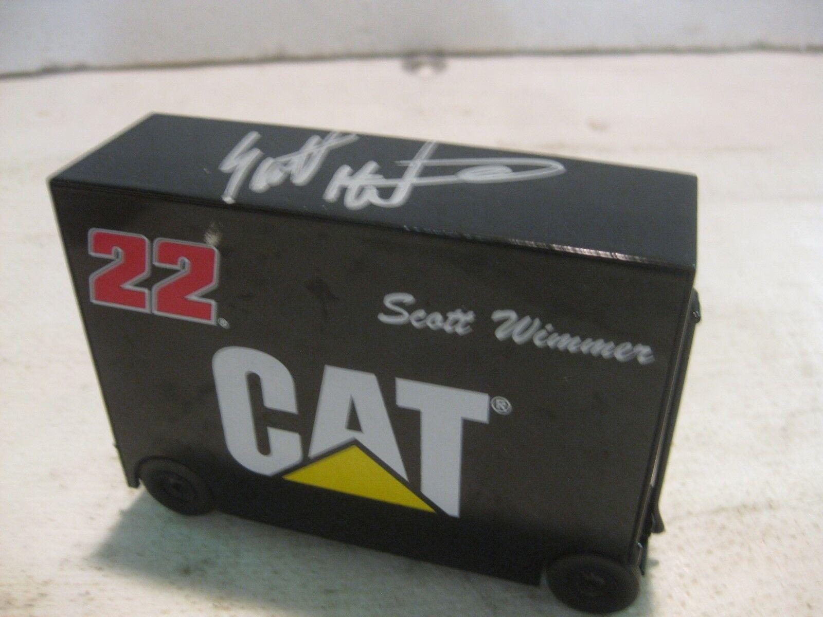 Nascar Scott Wimmer Tool Chest 164 Scale Diecast Team Caliber 2003 dc710