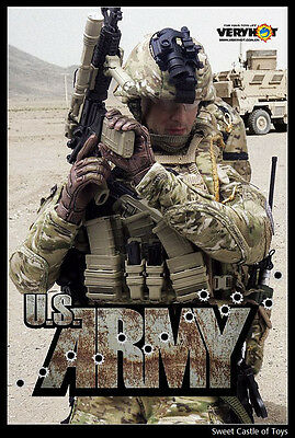 1/6 Very Hot Military Accessory Set - US Army For Dam Hot Toys Body