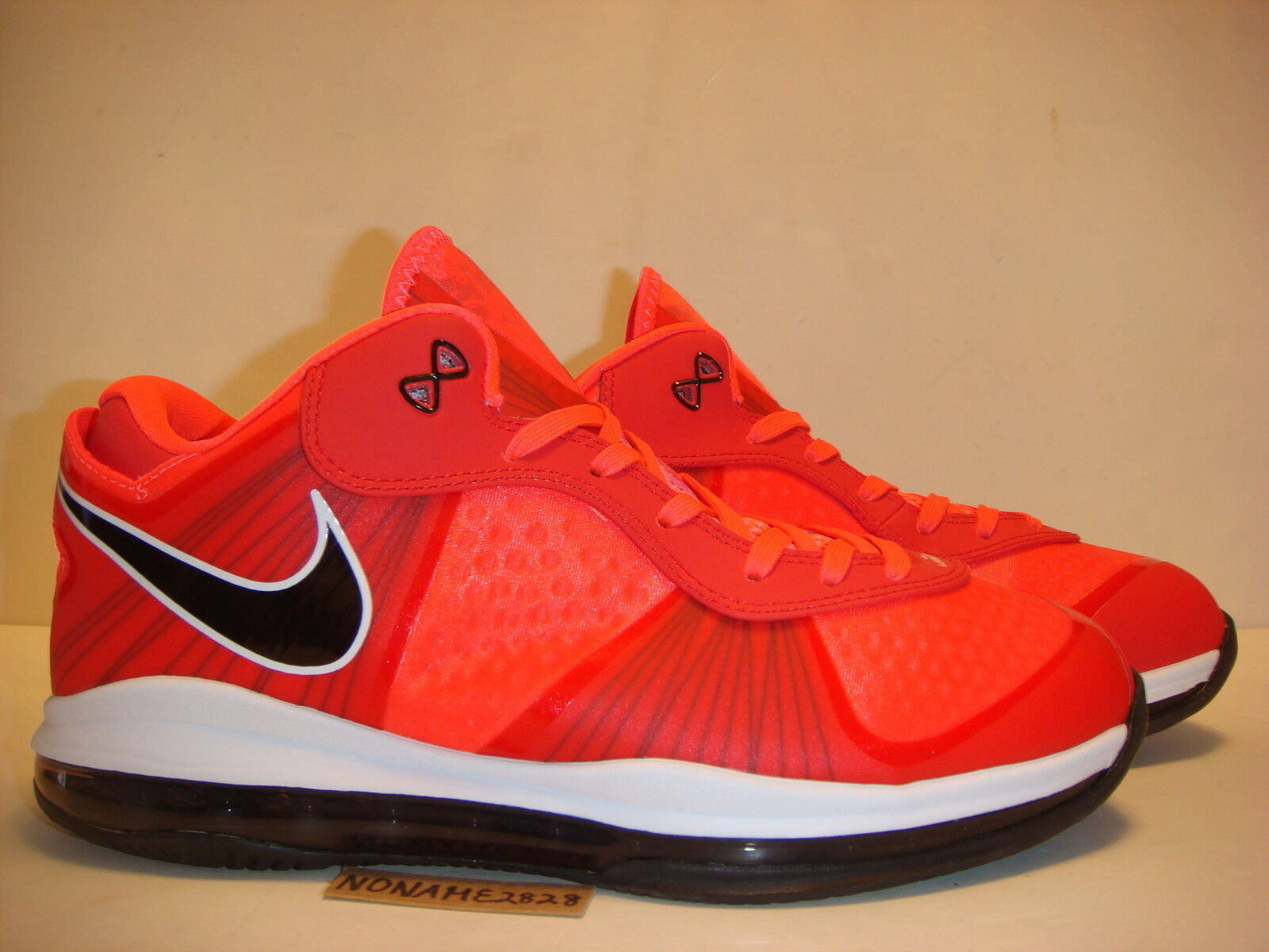 Nike lebron 8 v / 2 solare red galassia preriscalda south beach cork miami notte pe