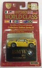 1989 Matchbox World Class BMW M1 World Class #13 Series 2. New.