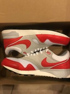 cf1e35789b9 Nike Air Odyssey OG University Red White Sail Grey Anniversary Sz 11 ...