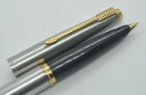 Parker 45 Nib 14K Gold & Stainless Steel Fountain Pen Nib size X