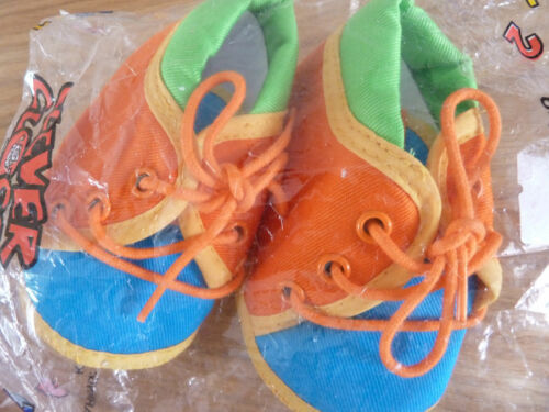 BRAND NEW BABY BOYS COLOURFUL SHOES BY CLEVER CLOGGS 6-12 MONTHS LOVELY!