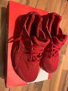Big Kids Nike Air Huarache Triple Red