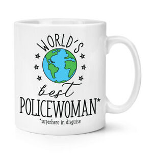 World-039-s-Best-Policewoman-10oz-Mug-Cup-Funny-Joke-Favourite-Police