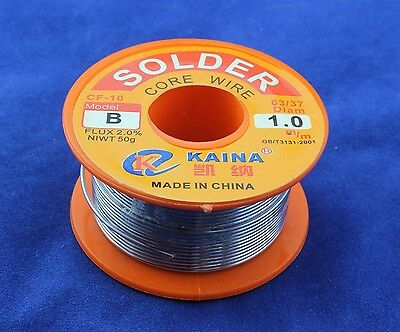 1mm Rosin Core Solder 63/37 Tin Lead Line Flux Soldering Welding Iron Wire Reel