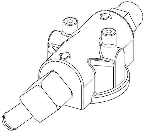 Diesel Fuel Filter Head