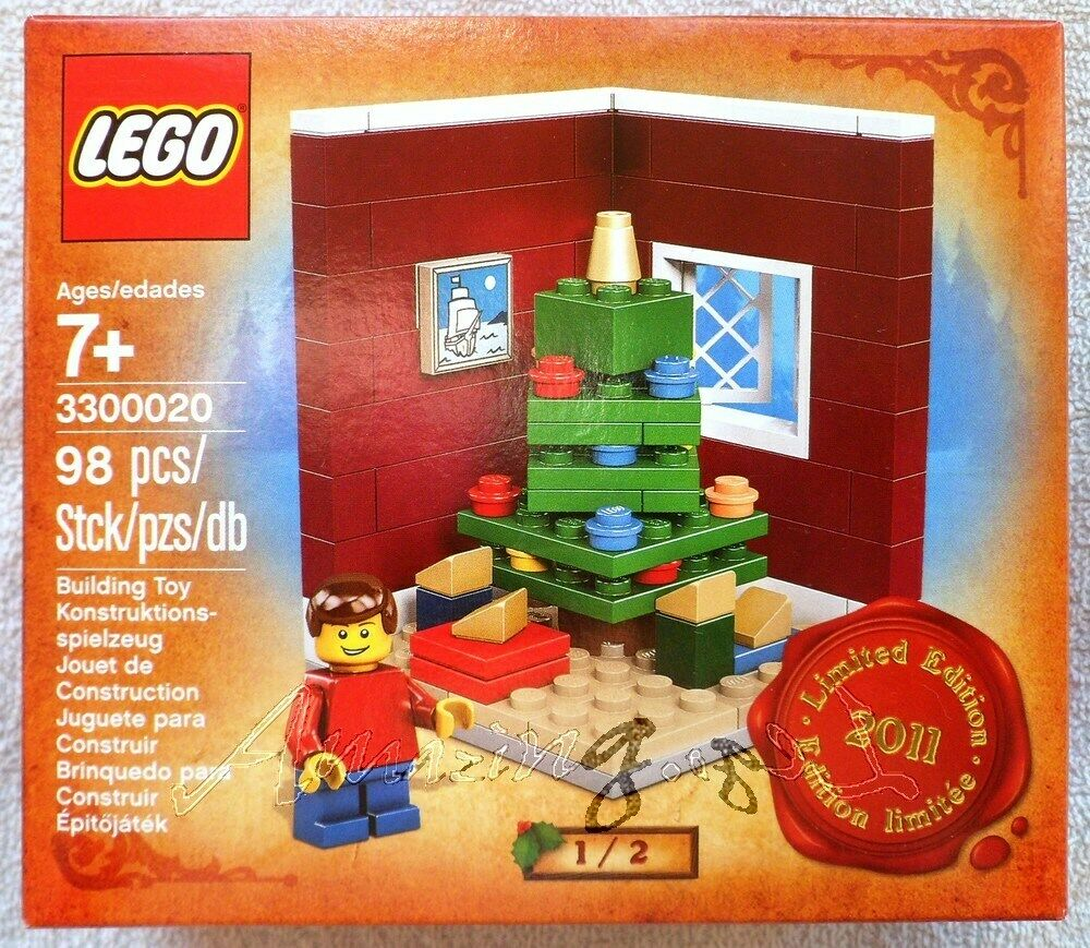 Genuine New Lego Limited Edition Christmas Tree Scene 3300020 Sealed MISB