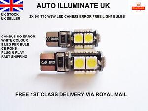 T10-501-W5W-LED-CAR-WHITE-LIGHT-BULBS-ERROR-FREE-CANBUS-INTERIOR-BOOT-ROOF-12V