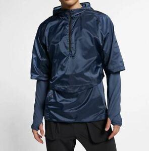 Wasserabweisendes-Nike-Tech-Pack-2in1-Gr-M-Laufoberteil-Longsleeve-AR1712-427