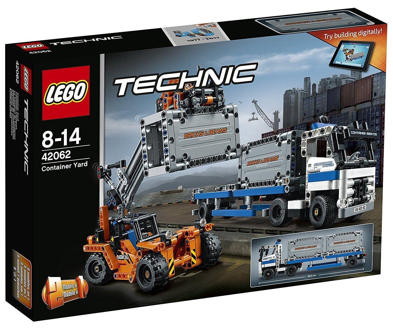 Depósito de Contenedores - - - LEGO TECHNIC 42062 - NUEVO 6b5a77