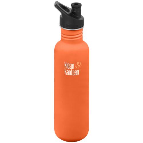 Single Wall Bottle with 3.0 Sport Cap Klean Kanteen Classic 27 oz