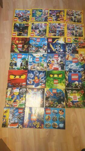 LEGO Catalogue 2008 au 2019 janvier à décembre plus 2007 et 2020