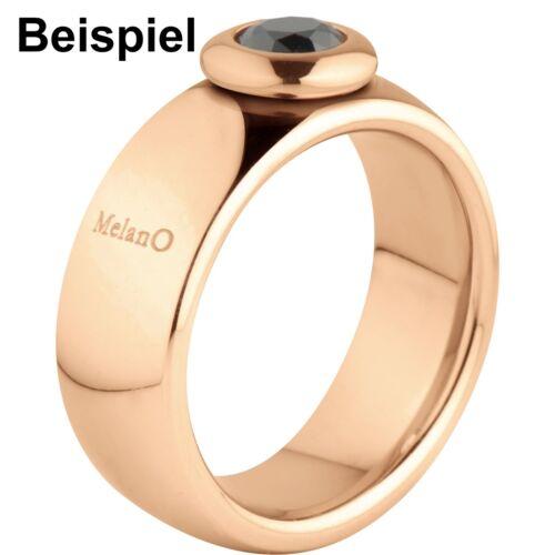 Melano Vivid Vicky Ring M 01R9010 RG Größe 56 6 mm rosé für Vivid Aufsätze