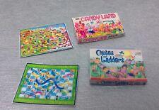 Dollhouse 1:12 mini 2 Kids Game Box & Boards, Candy Land, Chutes & Ladders