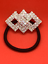Women-Crystal-Silver-Plated-Rhinestone-Hair-Band-Ponytail-Holder-Hair-Accessory 縮圖 6