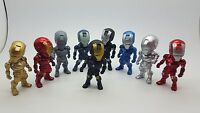 Iron Man Action Figure Kids Boy Display Figurines Set of9 Cake Topper Decor Toy