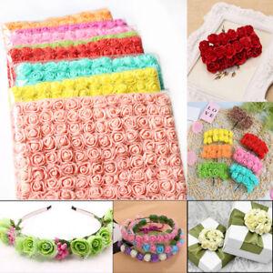 144-PCS-Mini-Foam-Rose-Flowers-Bouquet-DIY-Crafts-Wedding-Home-Christmas-Decor