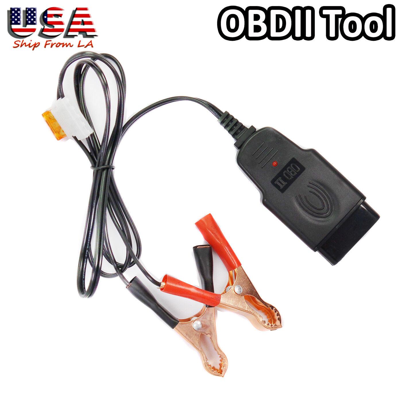 Car OBD Computer ECU Memory Saver Replace Battery Safe Tool OBDII Resume Hand 4