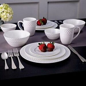 Image is loading New-Mikasa-Trellis-Swirl-Bone-Porcelain-China-36- : porcelain china dinnerware - pezcame.com