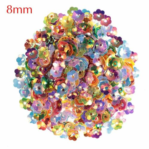Nail Sequin Clothing Plum Blossom Shape Mix Color Sequins Scrapbooking