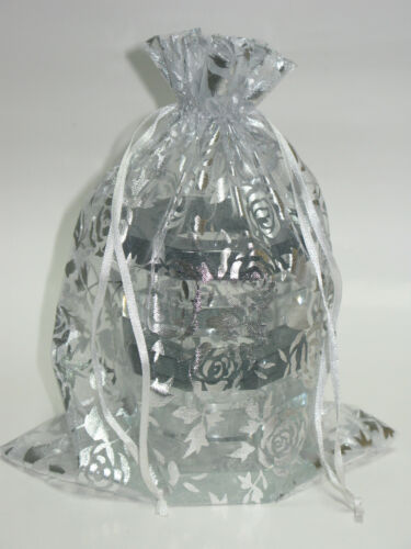 """Black Octagon Clear Crystal Pens /& Pencils Holder 4/"""" Height 16 oz Weight"""