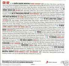 CD rare BALADA pop A QUIEN QUIERO MENTIRLE Marc Anthony VICTOR MANUELLE ov7