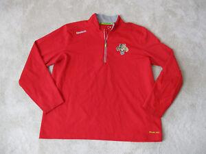 Reebok-Florida-Panthers-Jacket-Adult-Extra-Large-NHL-Hockey-Red-Coat-Mens