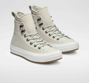 Details about Converse Chuck Taylor All Star Waterproof Leather Women's High Top White Sz 7 10
