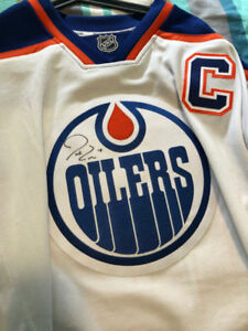 official photos 2ff91 96ccc Details about Signed Jordan Eberle Oilers Jersey