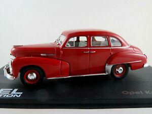 Ixo-57-Opel-capitan-039-51-1951-1953-en-rojo-1-43-nuevo-PC-vitrina