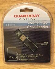 NIB Quantaray Micro SD MicroSD Card Reader Mac & PC 811660588