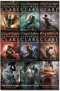 Cassandra-Clare-Mortal-Instruments-Infernal-Devices-Collection-9-Books-Set-NEW