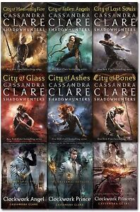 Cassandra-Clare-Mortal-Instruments-amp-Infernal-Devices-Collection-9-Books-Set-NEW