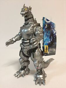 Bandai Movie Monster Series Godzilla Mechagodzilla 2004 Soft Vinyl