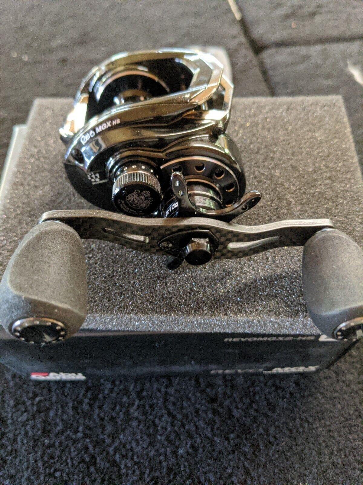Abu Garcia Revo MGX 2 Left Hand Low Profile Baitcaster Reel for sale online
