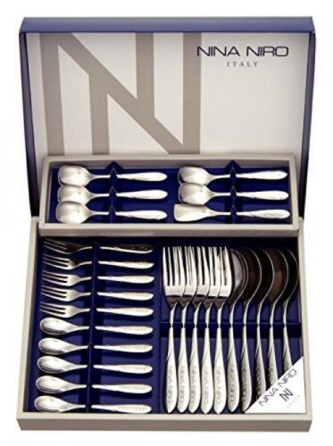 Stainless Steel Nina Nero Ninaniro lanch 26 Cutlery Gift Set 151-726 japan