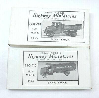 Highway Miniatures 1923 Mack Dump Truck Kit~360-210 New Old Stock~HO